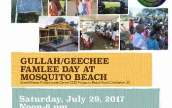 GULLAH/GEECHEE FANLEE DAY @ MOSQUITO BEACH